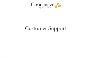 Video clip about our superior customer support